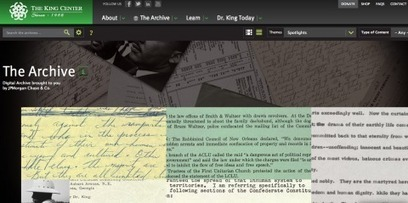 200,000 Martin Luther King Papers Go Online | Semantic Gnosis Web | Scoop.it