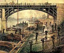 Peindre le travail ouvrier - L'Histoire par l'image | GenealoNet | Scoop.it