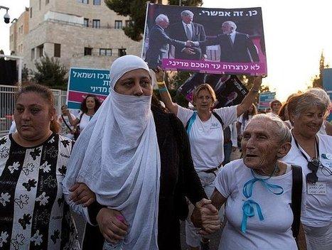 Mujeres palestinas e isralíes marchan para exigir la paz | La R-Evolución de ARMAK | Scoop.it