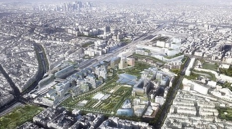 Clichy-Batignolles: l'aménagement urbain face aux enjeux climatiques | Ville de demain : éco-mobilité & smart energies | Scoop.it