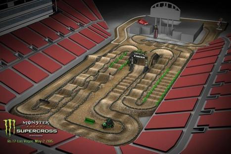 2015 Monster Energy Supercross Track Designs Released - Racer X Online | Monarch Honda Power Sports | Scoop.it