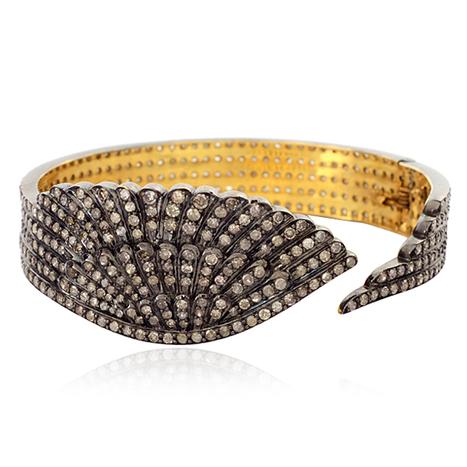 Diamond Pave Angel Wings Bangle | Diamond Jewelry | GemcoDesigns | Pave Diamond Bangle | Diamond Jewelry | GemcoDesigns | Scoop.it