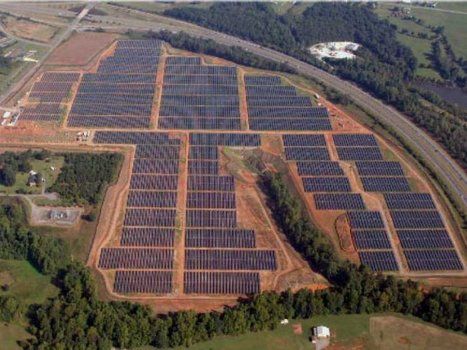 Here's A Look At Apple's Massive Solar Array | UtilityTree | Scoop.it