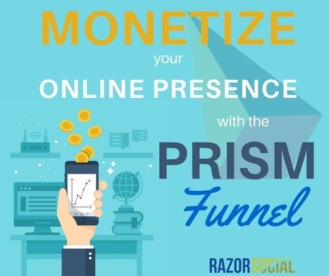 Monetize your online presence with the PRISM funnel | Razorsocial | Scoop.it