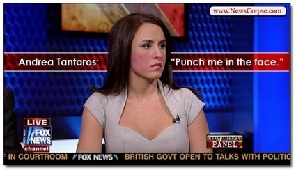 Andrea Tantaros Of Fox News Wants You To Punch Her In The Face | Daily Crew | Scoop.it