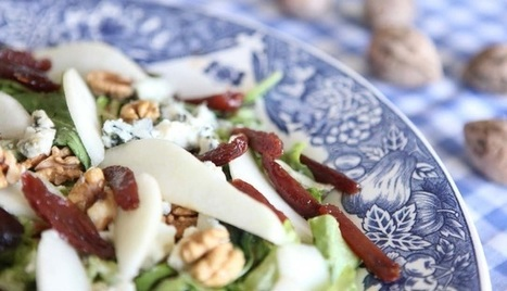 Roquefort, Pear & Date Salad | Meatless mondays | Scoop.it