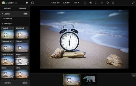 Polarr : un outil gratuit pour retoucher, filtrer et rogner une photo en ligne | Numérique & pédagogie | Scoop.it
