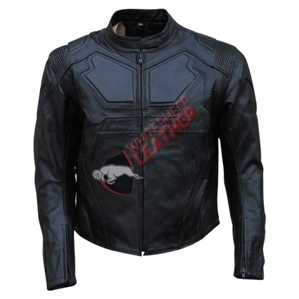 Tom Cruise's (Jack Harper) Oblivion Movie Character Leather Jacket In Black Color | movie leather jackets | Scoop.it