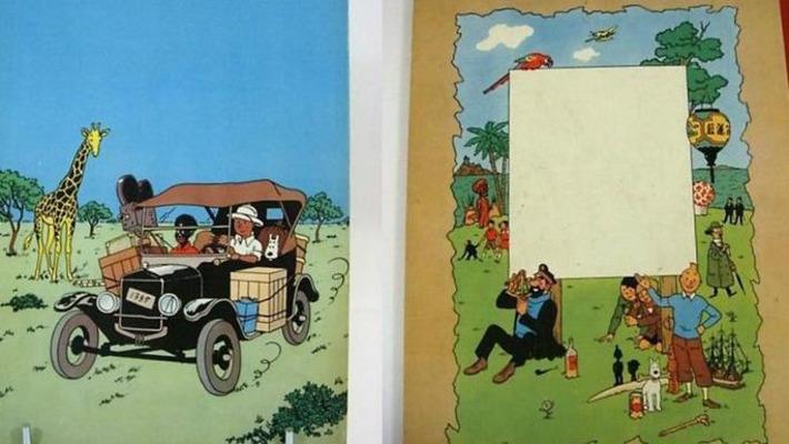 Une rare édition de Tintin au Congo mise en vente | Le Figaro | À la une | Scoop.it