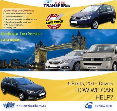 Heathrow Airport Taxi Booking Services | Airport Transfers UK | Scoop.it
