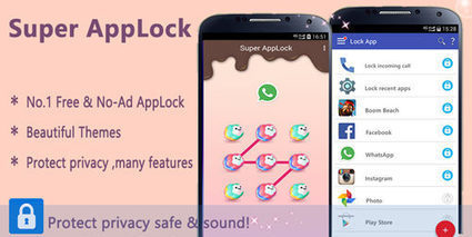 App Protector& Privacy Guard - Super AppLock - Best Android Apps | Education Technology | Scoop.it