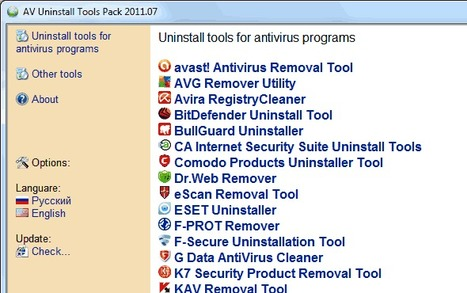 Comment désinstaller un antivirus récalcitrant ?   Time to Learn   Scoop.it