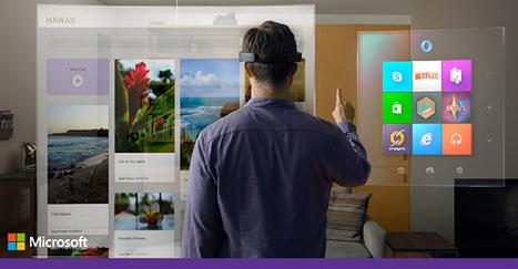 Microsoft Stuns Tech World With Windows 10 Holographic | Mobile & Digital World | Scoop.it