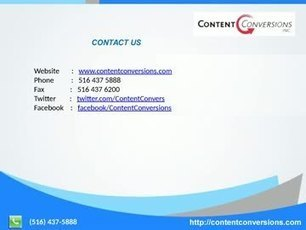Data entry, Online Document Storage, document Scanning - Content Conversions.mp4 | contentconversions | Scoop.it