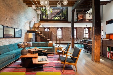 A Caviar Warehouse Converted Into A Loft By Andrew Franz Architect | Home Design | Scoop.it