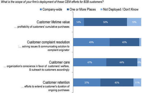 Customer Lifetime Value Prioritizes Customer Experience Management #clv #marketing | Designing services | Scoop.it