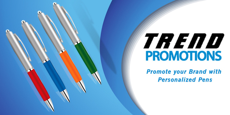 Personalized Pens can Wave the Wind in your Brand's Favor | Trend Promotion Solutions Ltd. | Scoop.it