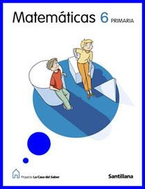 Matemáticas 6º curso - Edit. Santillana | AULA 2013 - Primaria | Matemáticas de 6º de primaria | Scoop.it