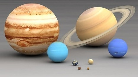 The Planets in Our Solar System in Order of Size | MyScienceAcademy | Out of This World Earth Science | Scoop.it