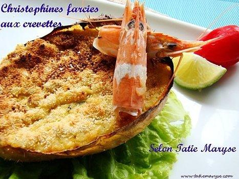 Christophines farcies aux crevettes, selon Tatie Maryse - Le blog de ... | Martiniques news | Scoop.it
