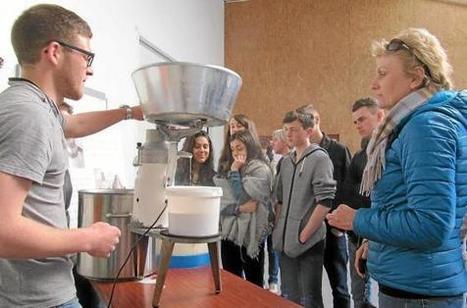 Les élèves cuisiniers échangent avec les futurs producteurs   Le lycée agricole de Caulnes   Scoop.it