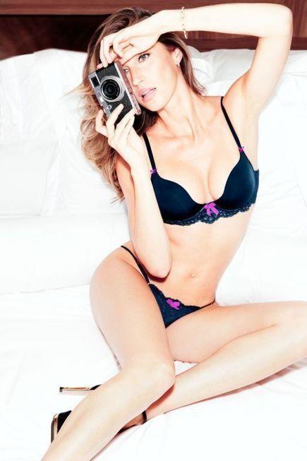 Gisele Bundchen Stuns for New Gisele Intimates Campaign | FujiFilm x100s | Scoop.it