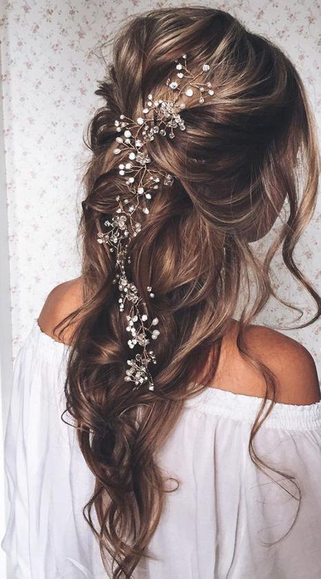 20 Elegant Wedding Hairstyles with Exquisite Headpieces   Event Accessories: Ideas, Designs, ETC.   Scoop.it