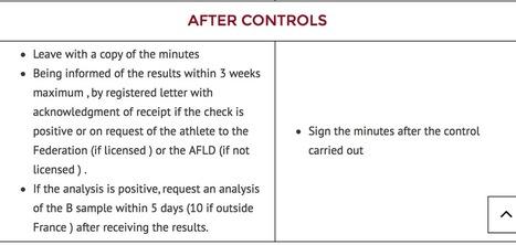 IAAF response re EPO positive test at UTMB® | Talk Ultra - Ultra Running | Scoop.it