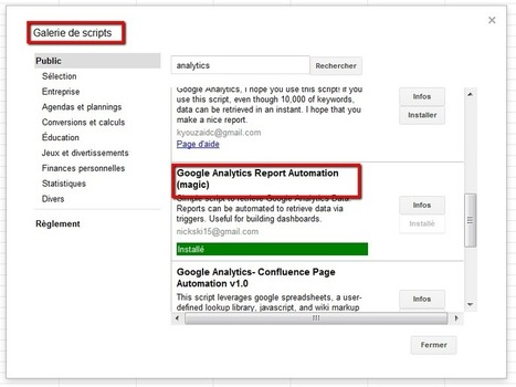 Une application pour automatiser vos rapports Google Analytics | Time to Learn | Scoop.it