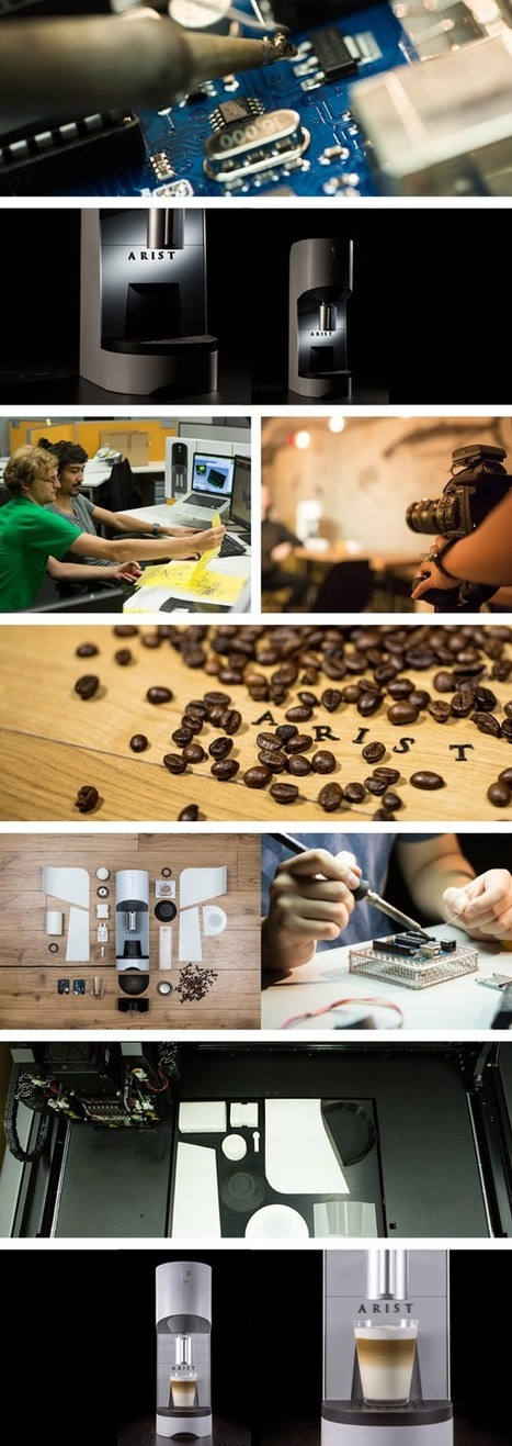 Arist: Brews Coffee Like The Best Baristas Anytime Anywhere on kickstarter ! | Coffee News | Scoop.it