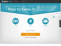 Tame. Resume en temps reel votre timeline Twitter | Cabinet de curiosités numériques | Scoop.it