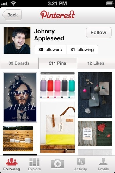 Pinterest iPhone App: Version 1.4 - Oh, How Pinteresting! | Pinterest | Scoop.it