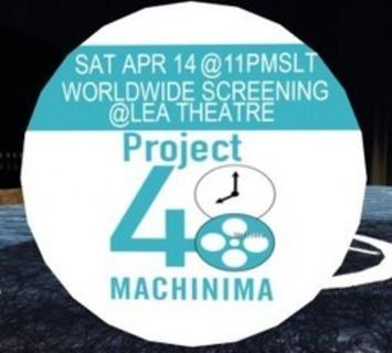 Press Release LEA & 48 Hour Film Project Machinima Premiere this ...   Machinimania   Scoop.it