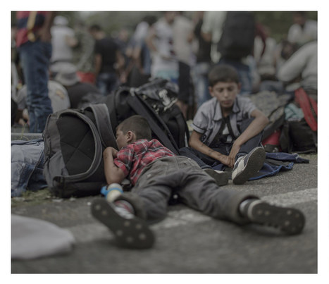Powerful Images Showing Where Young Syrian Refugees Sleep | What's new in Visual Communication? | Scoop.it
