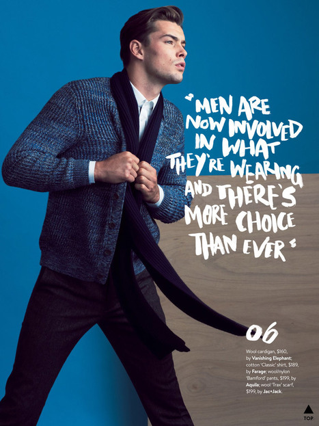 Christopher Poole and Jai Stevens for GQ Australia March/April 2015 | Male Models | Scoop.it