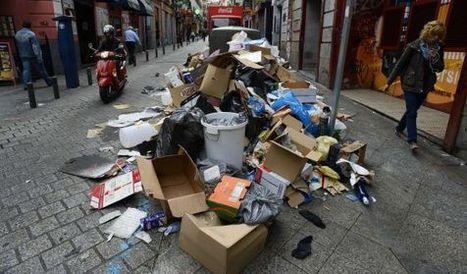 La basura se extiende por Madrid | Noticias CTM (tercera evaluación) | Scoop.it
