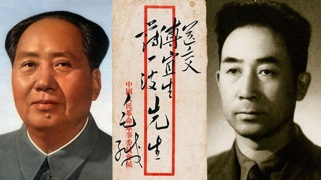 Envelope addressed by Mao Zedong to Bo Yibo sells for $1 million at auction   Collectible Characters   Scoop.it