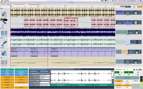 Tracktion 5 Now Available For Linux, Mac & Windows   Gear Acquisition Syndrome   Scoop.it