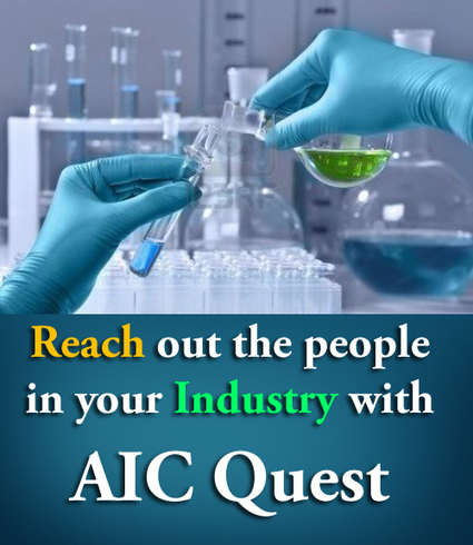 Reach out the people in your industry with AIC Quest | Chemicals, pharmaceuticals, plastics in India | Scoop.it
