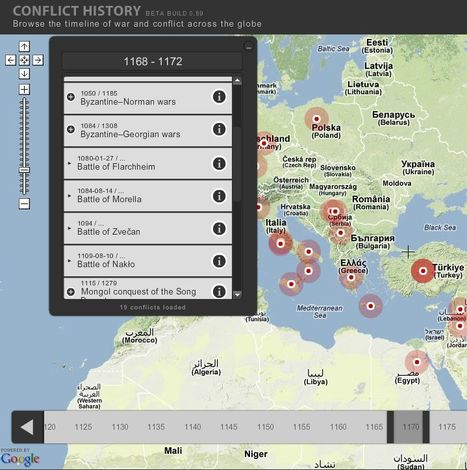 A history of conflicts | einesvisuals | Scoop.it