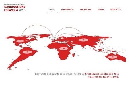 El Instituto Cervantes lanza la web sobre el examen de nacionalidad española | Aulas ATAL e Interculturalidad | Scoop.it