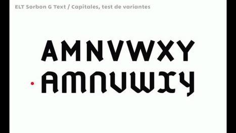 Laboratoire de recherche typographique | CIR ET RECHERCHE  - LG | Scoop.it