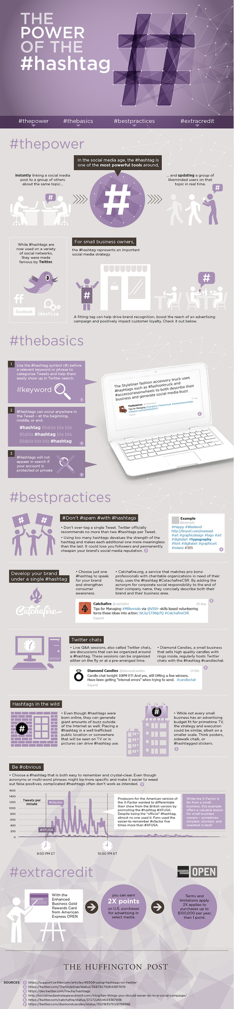 A Simple Guide to Using Hashtags on Twitter [Infographic] - HubSpot | search engine optimization | Scoop.it