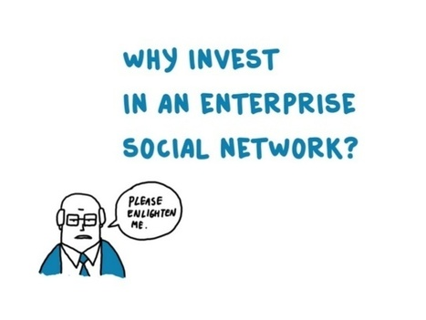 Why invest in an Enterprise Social Network? (Internal communications … | The quest for zero email  & social business | Scoop.it