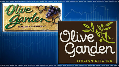 Olive Garden's new logo leaves investors with a bad taste in their mouth   J320- Class Related   Scoop.it