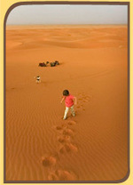 Nomadexperience Merzouga desert tour by camel and bivouaq in berber tent among dunes. | Tour Marocco | Scoop.it