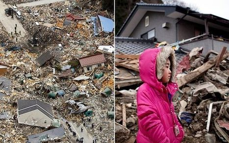 Japan earthquake: tsunami funnelled up river destroying inland town - Telegraph | Year 6: A Diverse and Connected World | Scoop.it