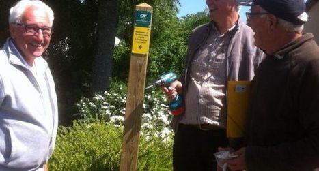 Les départs de randonnée enfin bien indiqués | L'info tourisme en Aveyron | Scoop.it