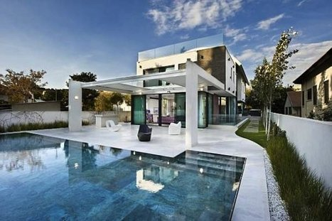 Modern Private Residence By Oded and Elizabeth Architects | Design Love | Scoop.it