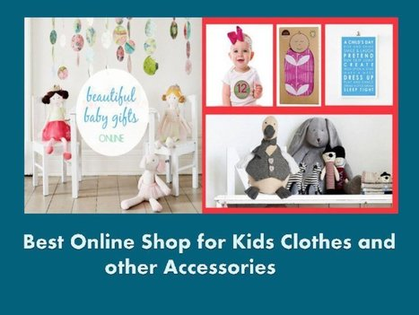 Top Gifts for Boys Online | baby clothing online | Scoop.it